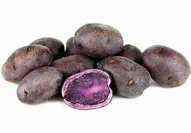 Pommes de terre violettes italiennes
