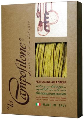 Fettuccine La Campofilone - Alla Salvia