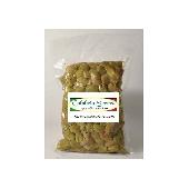 Olives dénoyautées à Paesanella - Scabra de Calabre