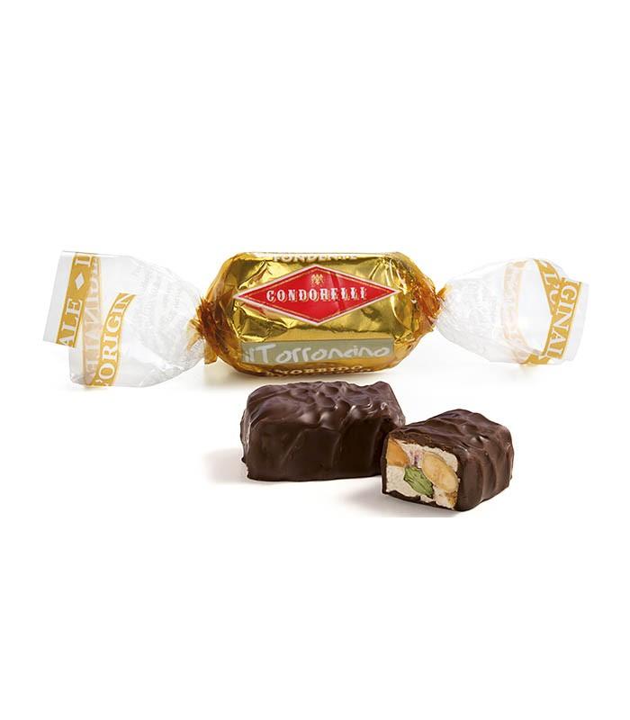 Torroncini Ricoperti al Cioccolato - Condorelli