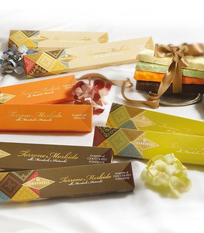 Stecca Torrone Ricoperto Cioccolato - Condorelli