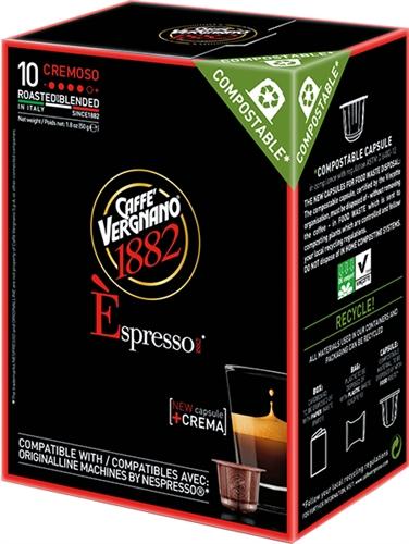 Espresso Cremoso - Caff� Vergnano