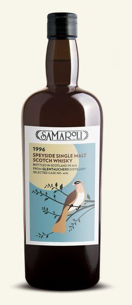 Speyside Single Malt Scotch Whisky 1996 - Glentauchers, Samaroli