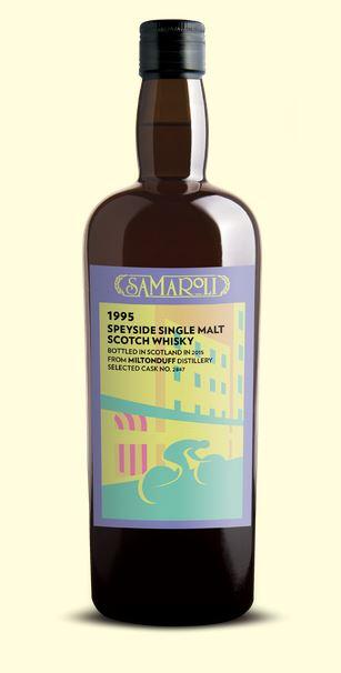 Speyside Single Malt Scotch Whisky 1995 - Miltonduff, Samaroli